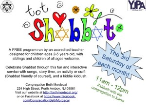 Tot Shabbat Flyer